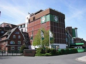 Lich, Hesse - The Licher brewery.