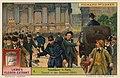 Liebigbilder 1913, Serie 883. Richard Wagner - 4 Tannhäuser in Paris. Tumult in den Strassen (1861).jpg