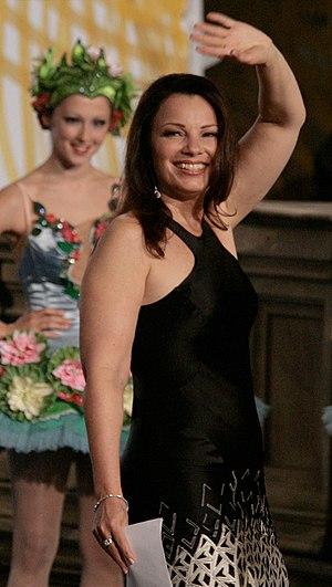 Fran Drescher at the Life Ball 2009, Rathaus, ...