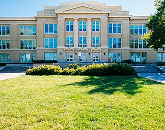 Lincoln High School (Lincoln, Nebraska) - Image: Lincoln High School Lincoln, NE