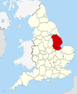 Lincolnshire UK locator map 2010.svg
