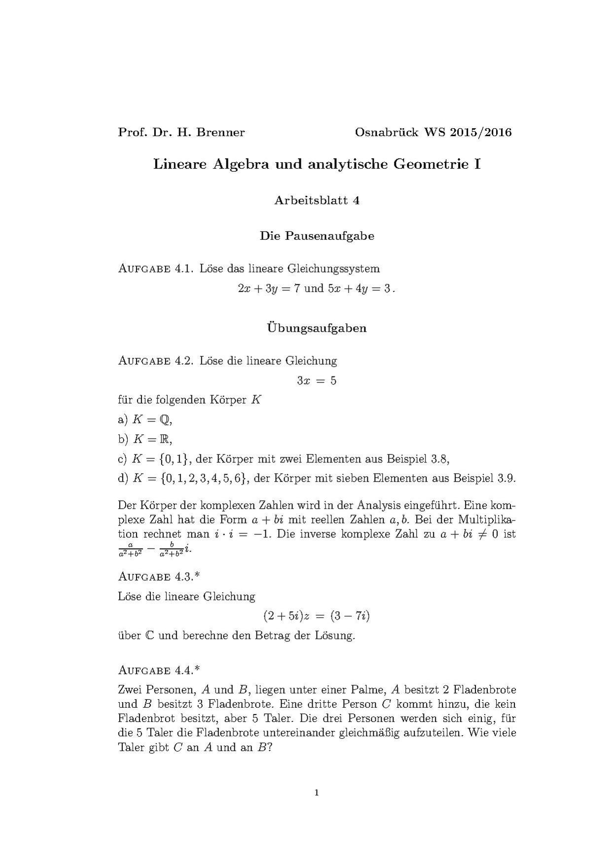 File:Lineare Algebra (Osnabrück 2015-2016)Teil IArbeitsblatt4.pdf ...