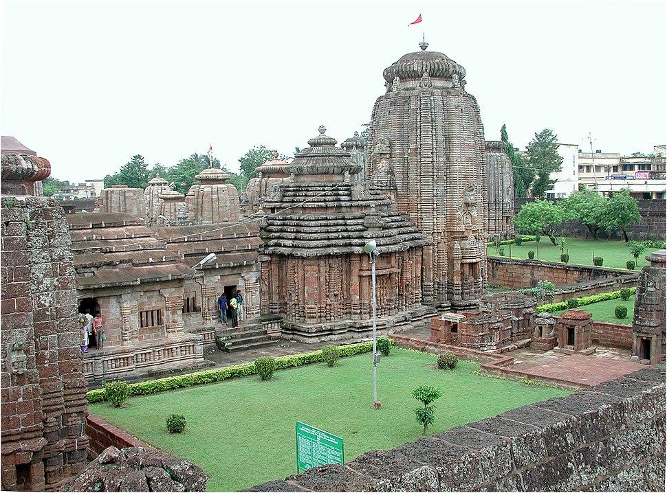Lingaraj temple Bhubaneswar 11007