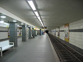 Perron van station Lipschitzallee