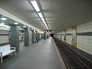 Lipschitzallee (Berlin U-Bahn) - Platform, Lipschitzallee U-Bahn station