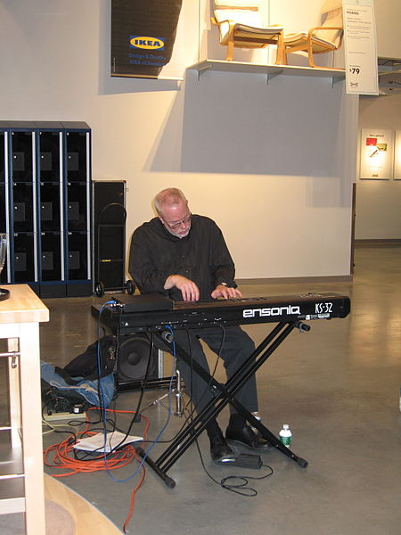 File:Live music by some guy they found on the street, IKEA Stoughton, MA.jpg