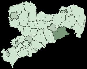 Sächsische Schweiz (district) - Image: Lkr saechsschweiz