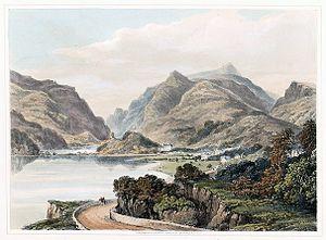 Llanberis - Llanberris, c.1850