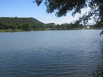 Llano River - Llano River at Junction in Kimble County, Texas