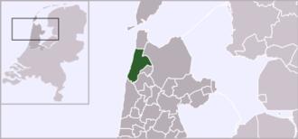 't Zand, Schagen - Image: Locatie Zijpe