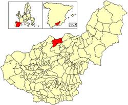 Vị trí của Guadahortuna