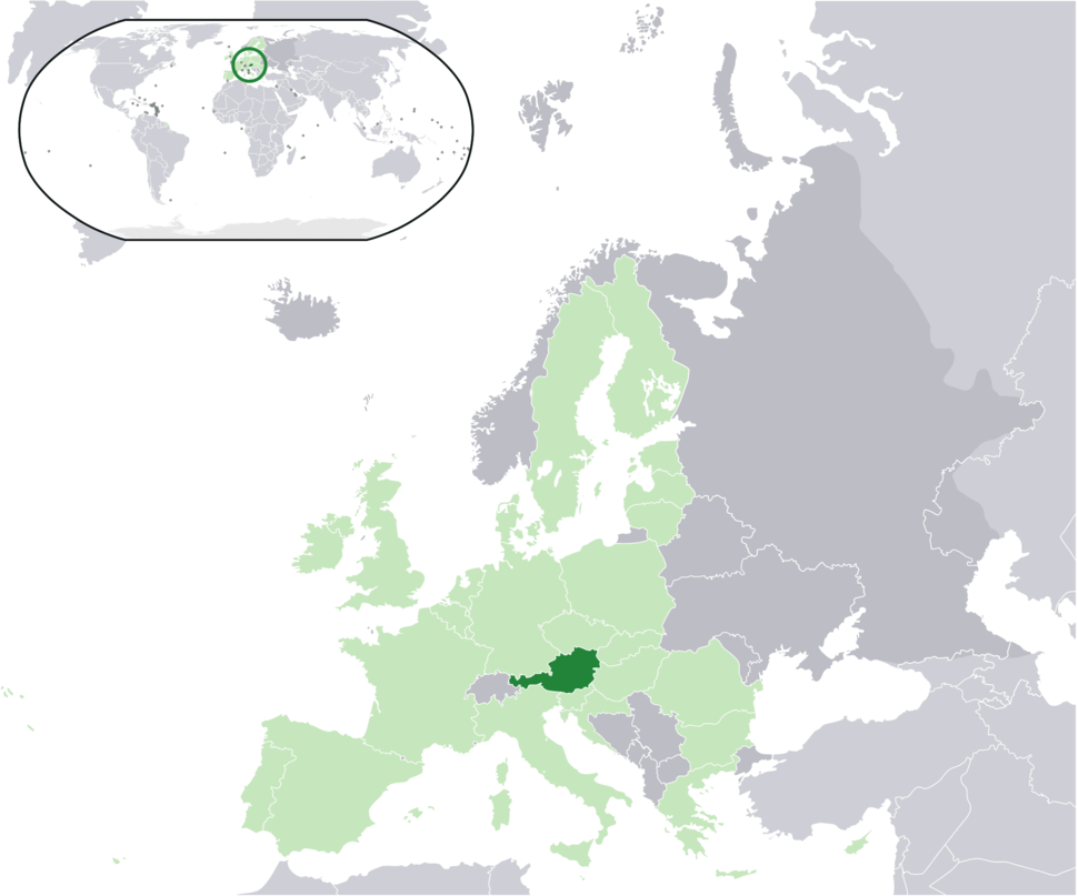 Location Austria EU Europe