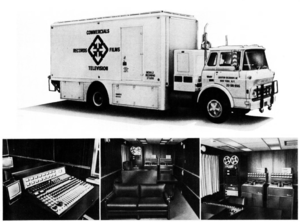 Remote recording - A remote truck and its interiors, 1970
