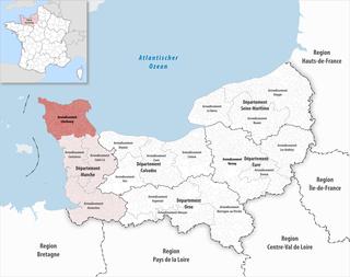 Arrondissement of Cherbourg Arrondissement in Normandy, France