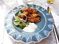 London - Battersea - Cinnamon kitchen restaurant, Tandoori Chicken Tikka.jpg