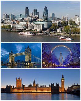 صورة معبرة عن لندن