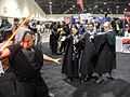 Long Beach Comic & Horror Con 2011 - Sith Lord vs Hogwarts Wizards (6301701752).jpg