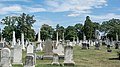 Looking E across section B - Glenwood Cemetery - 2014-09-14.jpg