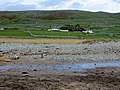 Looking inland from the beach at Llanaber - 1st June 2013 - panoramio.jpg