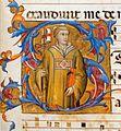 Lorenzo Monaco, Saint Stephen, fol. 95r, ca. 1391-92, Florence, Museo Nazionale del Bargello, Cod. C 71.jpg