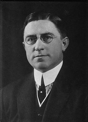 Louis T. McFadden (1876-1936), member of the H...