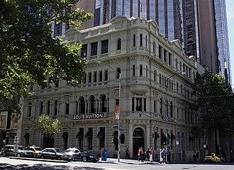Collins Street, Melbourne - Louis Vuitton, 139 Collins Street