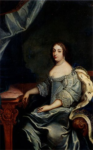 Princess Louise of Savoy - Painting of Louise Christine, ca. 1654/1655