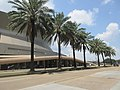 Louisiana Superdome from Poydras Avenue, New Orleans, July 2021 08.jpg