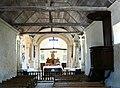 Louresse-Rochemenier église Rochemenier nef.JPG