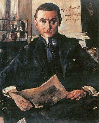 Gurlitt - Lovis Corinth: Wolfgang Gurlitt, 1917