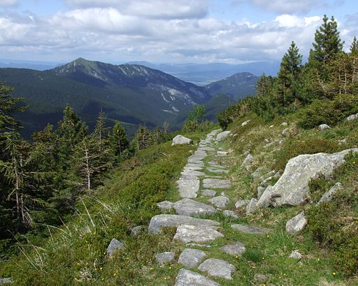 Low Tatras - blue trail
