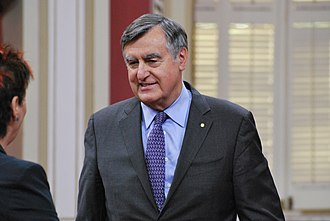 Lucien Bouchard - Lucien Bouchard at the National Order of Quebec in June 2013.
