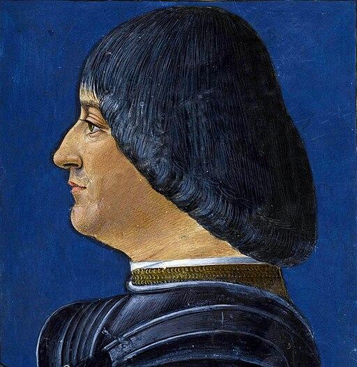 Ludovico Sforza by G.A. de Predis (Donatus Grammatica) crop