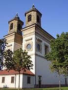 Ludwigshafen Oggersheim Wallfahrtskirche Sueden