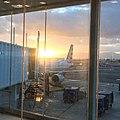 Luis Muñoz Marin International Airport at sunrise.jpg