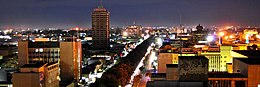 Lusaka at night