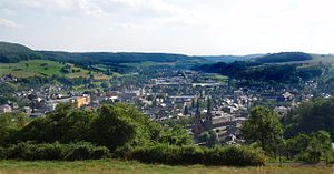 Stadtpanorama Diekirch