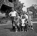 Luzarjeva družina, Dolenja Stara vas 17 1952.jpg