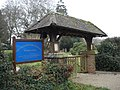 Lychgate, Church of the Ascension, Woodlands - Christmas Day 2006 - geograph.org.uk - 298292.jpg