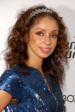 Mýa attending the Susan G. Komen's 8th Annual Fashion For The Cure event in Hollywood, CA in September 2009.