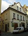 Měšťanský dům U zlatého zajíce (U Bílého zajíce) (Staré Město), Praha 1, Liliová 12, Staré Město.JPG
