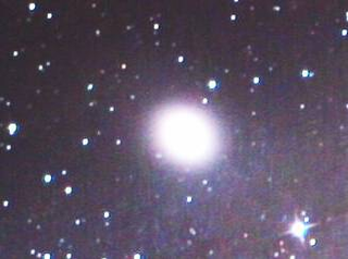 Messier 32 elliptical galaxy in the constellation Andromeda