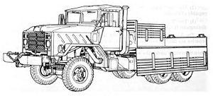 M939 series 5-ton 6x6 truck - M925 Cargo truck