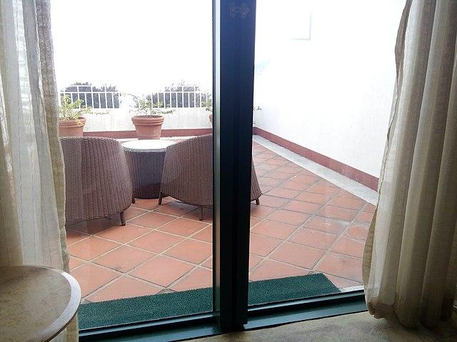 Filemc Macau Hotel Room Glass Door Balcony Grand