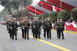 Great Military Parade of Peru