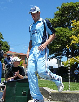 Moises Henriques - Henriques playing for New South Wales in 2008
