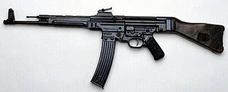 Automatic rifle - The German StG 44, the first assault rifle manufactured in significant numbers