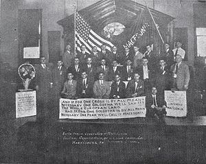 Macedonian Americans - Macedonian Patriotic Organization's 5th. convention in 1926.