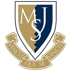 Malvern St James - Image: MSJ Crest