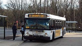 Route 93 (MTA Maryland LocalLink) - Image: MTA Maryland 4052 9